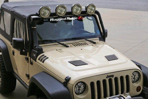 Capo JK con kit de Ventilación (Performance Vented Hood Kit), 07