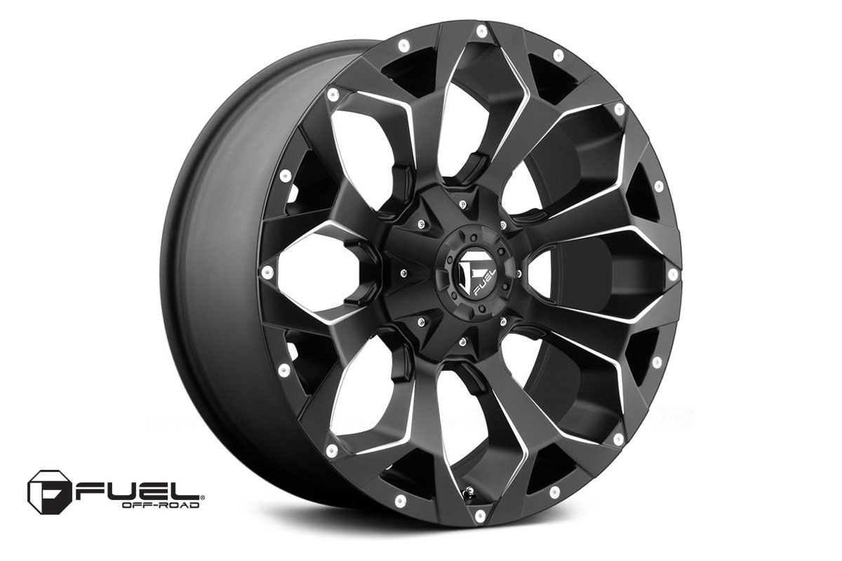 Lllanta Fuel  Assault Wheel, 20x10 (5x4.5 / 5x5.0) -18