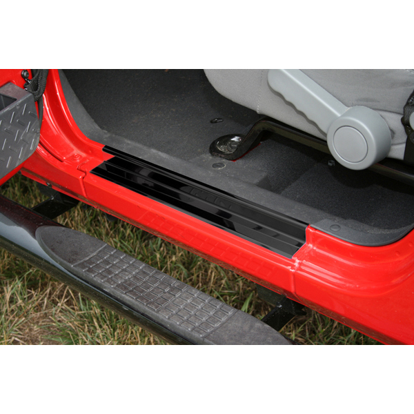 PROTECTORES LATERALES NEGROS CJ7/YJ