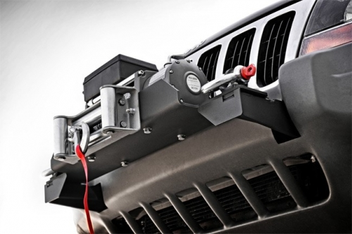 Jeep Winch Mounting Plate